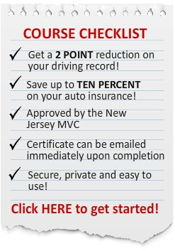 NJ defensive driving course benefits